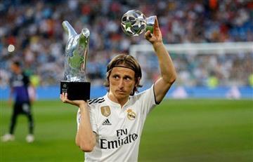 """Real Madrid: """"Modric representa el talento y los valores del club"""""""