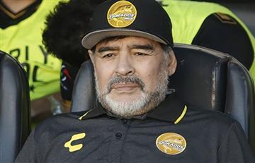 Maradona y un nuevo escándalo