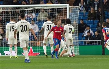Real Madrid vs CSKA Moscú EN VIVO ONLINE por la Champions League