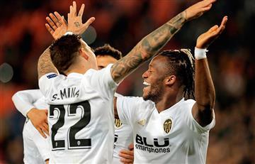 Valencia le ganó al Manchester por la Champions