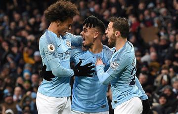 Manchester City venció al Everton
