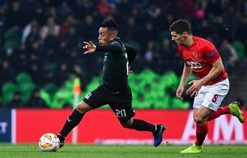 Cueva ya conoce a su rival en Europa League