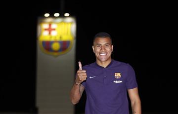 Jeison Murillo jugará en el Barcelona hasta final de temporada