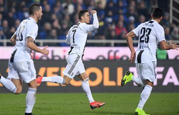 ¡Ronaldo al rescate! Salvó invicto de Juventus