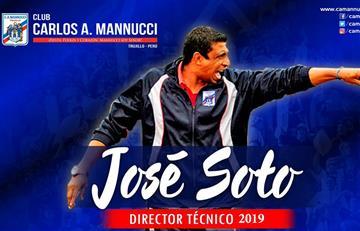 ¡Se queda! Pepe Soto seguirá como DT de Mannucci