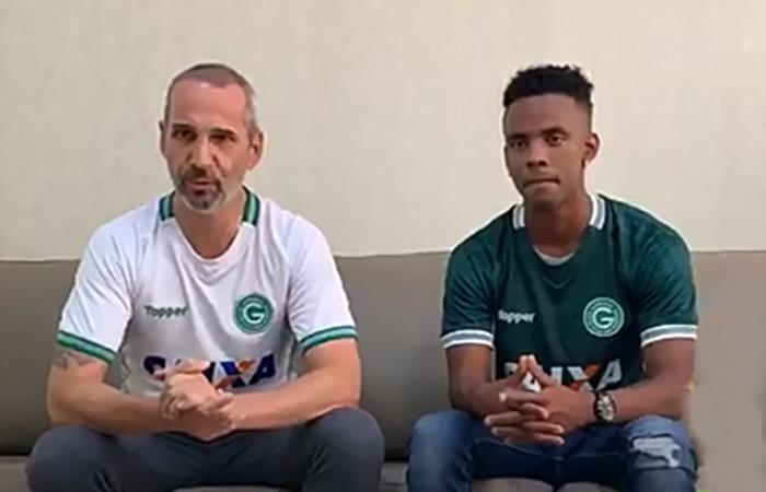 Nilson Loyola ya es nuevo jugador del Goias (Foto: Captura Instagram)
