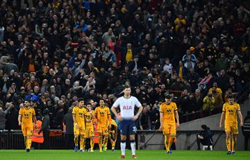 Tottenham cayó ante Wolverhampton