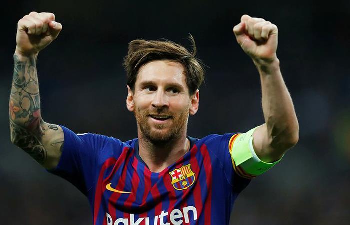 Lionel Messi es el máximo goleador del año. Foto: Twitter