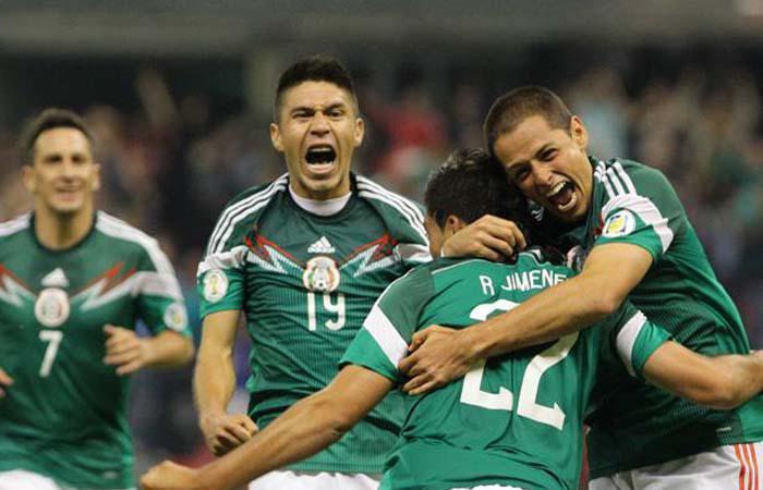 Selección de México. Foto: EFE