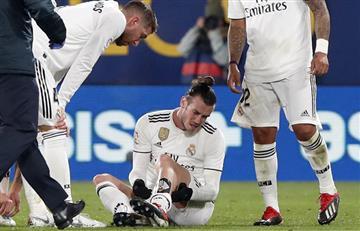 Bale y otra lesión en su historial con Madrid
