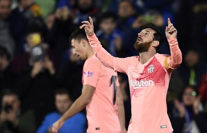 Barcelona le sacó 10 puntos a Real Madrid (Foto: AFP)