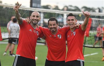 River Plate se alista así para la Copa Libertadores