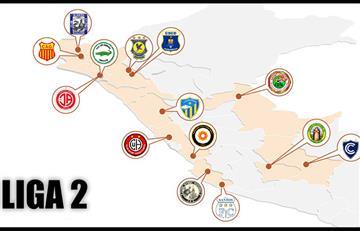 Liga 2: así se jugará la Segunda División del fútbol peruano en el 2019
