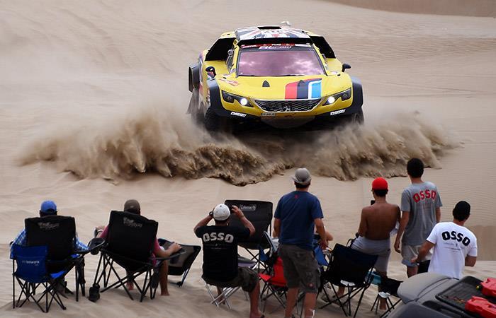 Dakar 2019: Al-Attiyah lidera el rally en autos y Barreda domina en motos