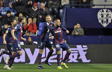 Levante derrotó al Barcelona