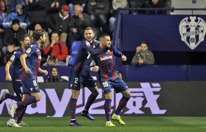 ¡Batacazo! Levante derrotó al Barcelona por la Copa del Rey