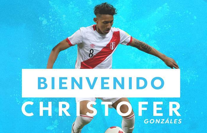 Christofer Gonzáles es nuevo jugador de Sporting Cristal