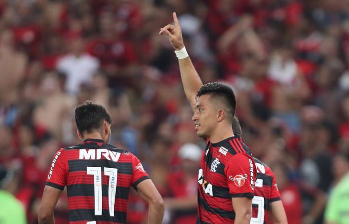 El Flamengo de Miguel Trauco igualpo 2-2 ante el Ajax (Foto: Twitter)
