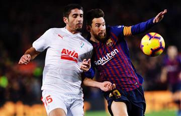 Barcelona derrotó al Eibar por LaLiga
