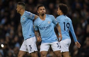 Manchester City goleó al Wolverhampton