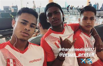 Selección Peruana Sub 20 partió rumbo a Chile