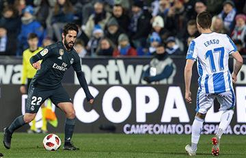 Real Madrid avanza en la Copa del Rey