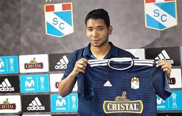 Cristian Palacios: así fue su presentación en Sporting Cristal