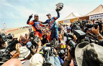 Dakar corrido únicamente en Perú llegó a su fin