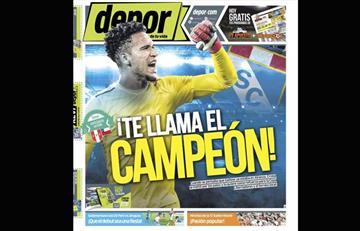 Portadas de periódicos deportivos peruanos del viernes 18 de enero
