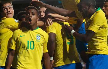Brasil venció a Venezuela en el Sudamericano Sub 20