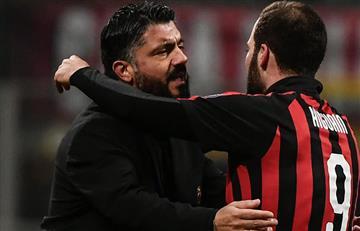 """Gennaro Gatusso sobre la partida de Higuaín al Chelsea: """"Acepto su decisión"""""""
