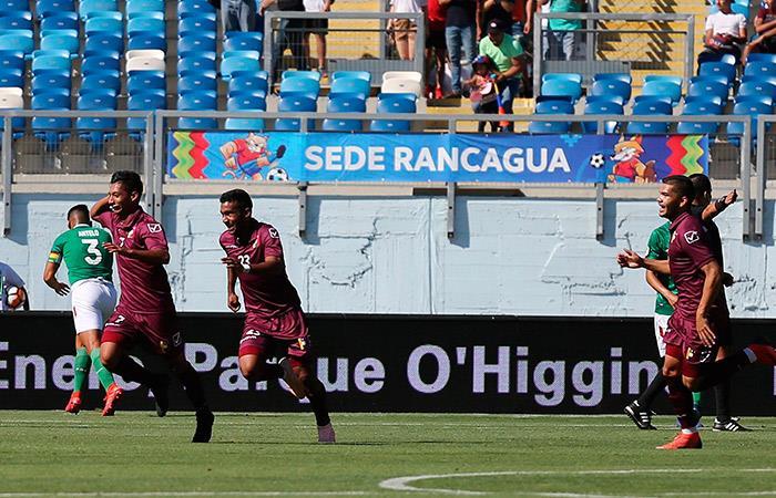 Venezuela 1-0 Bolivia. Foto: EFE