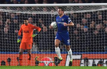 Chelsea derrotó al Tottenham y avanzó a la final de la Copa de la Liga