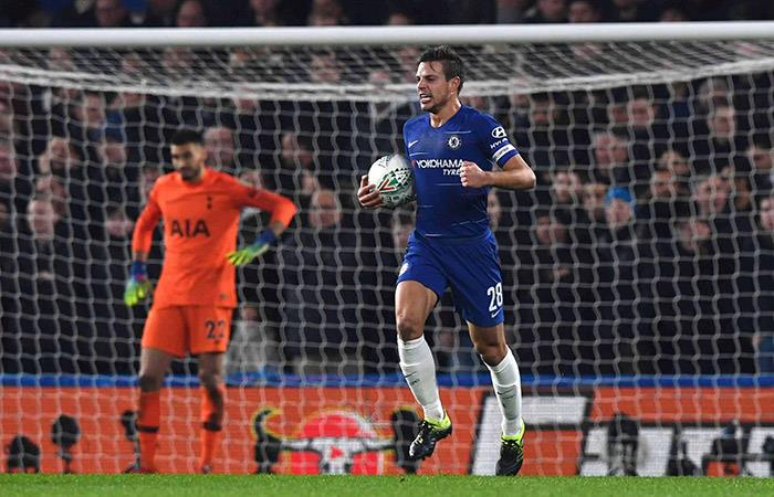 Chelsea se metió a la final de la Copa de la Liga. Foto: EFE