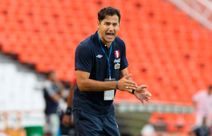 Daniel Ahmed habló tras la derrota de Perú. Foto: EFE