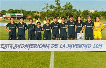 Talemtus Callao perdió en su debut en la Fiesta Sudamericana de la Juventud