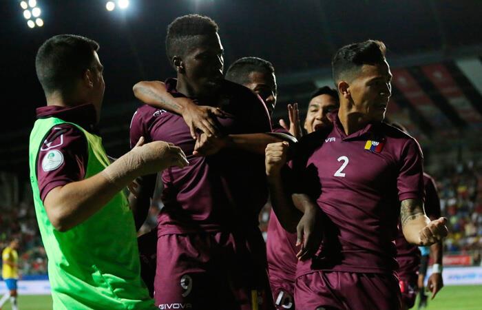 Venezuela venció a Brasil en un gran partido (Foto: EFE)