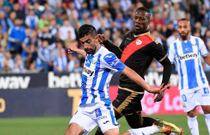 Luis Advíncula vs Leganés. Foto: Andina