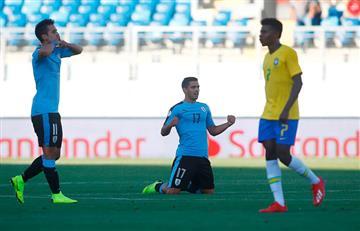 Uruguay venció con golazo a Brasil