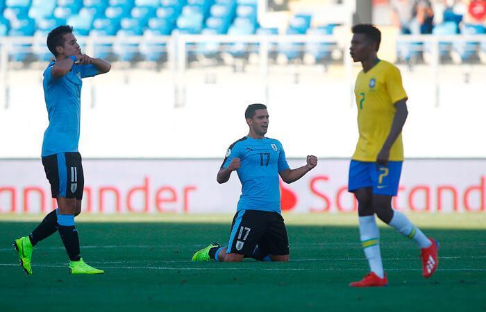 Brasil vs Uruguay EN VIVO ONLINE por el Sudamericano Sub 20