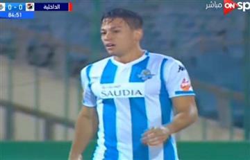 Cristian Benavente: mira su primer gol la camiseta de Pyramids