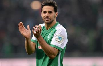Pizarro en el 11 histórico del Bremen