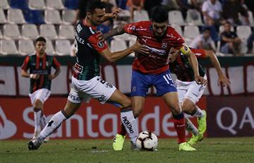 Palestino empató contra Ind. Medellín por Libertadores