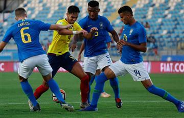 Ecuador y Brasil empataron sin goles
