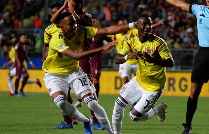 Colombia venció a Venezuela (Foto: EFE)