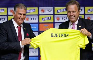 Carlos Queiroz fue presentado como nuevo técnico de Colombia
