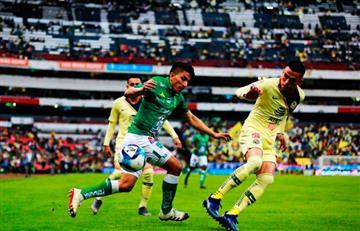 León goleó a América en el mismo estadio Azteca