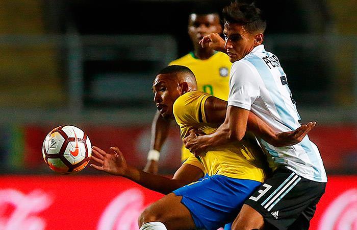 Brasil 1-0 Argentina (Foto: EFE)