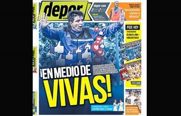 Portadas de los periódicos deportivos locales del sábado 9 de febrero