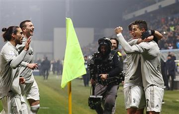 Juventus sígue de líder al ritmo de 'CR7'